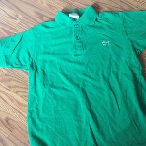 Lacoste polo shirt size 10